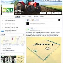 BKT crece en las redes sociales