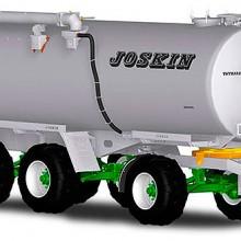 Joskin completa su gama de cubas de purín Tetraliner con equipamiento Dolly