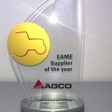 Mitas galardonado por AGCO como Proveedor del Año 2015
