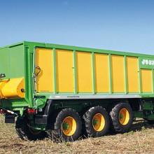 Joskin desarrolla un nuevo sistema de pesado sobre suspensión hidráulica