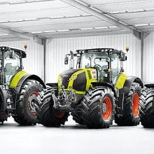 Los tractores de alta potencia Claas sacarán pecho en FIMA