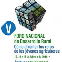 Programa completo del V Foro Nacional de Desarrollo Rural