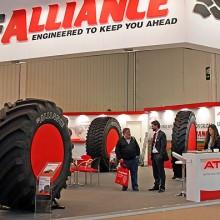 Gran presencia de la marca de neumáticos ATG en FIMA