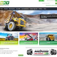 Gran éxito del sitio web de BKT