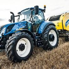 Nueva Serie T5 de New Holland con características de gama superior
