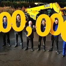 JCB celebra las 200.000 unidadesde su mítica telescópica Loadall