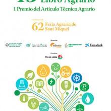 Feria de Lleida abre el concurso al libro agrario y artículos técnicos
