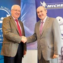 Michelin equipará los vehículos de los Bancos de Alimentos de España