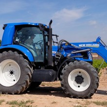 Primer ensayo del T6 Methane Power de New Holland
