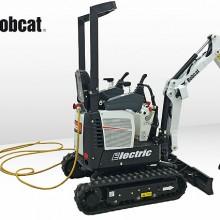 Nueva excavadora eléctrica Bobcat E10, con cero emisiones