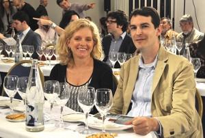 Pilar Barceló y Luis Fernando Oiz