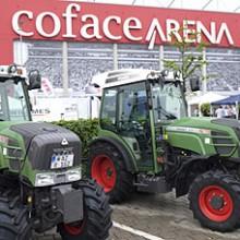 Fendt presente en el Campeonato Europeo de Fútbol de Viticultores