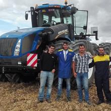 Primer New Holland T9 vendido en España