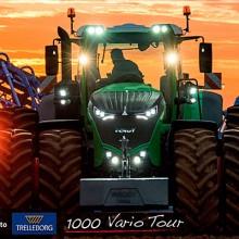 Trelleborg y Fendt juntos en el 1000 Vario Tour