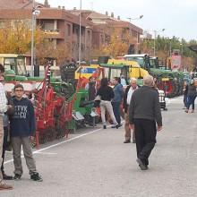 Feria de maquinaria de ocasión en Mollerusa