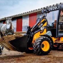 Nueva cargadora de ruedas compacta JCB 403 Agri