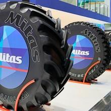 Mitas, presente en EIMA con su gama agrícola de neumáticos