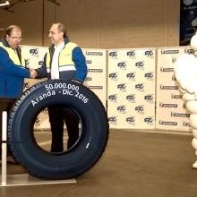 Michelin, 50 millones de neumáticos de camión