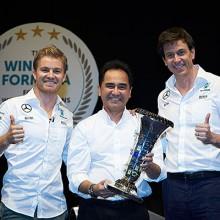 Petronas, primera parada del Campeón del Mundo de F1