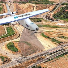 Los sistema aéreos no tripulados de Topcon usarán Intel