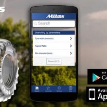 Mitas presenta su nueva App de presión de neumáticos