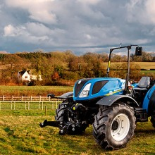 New Holland presenta el T4 Low Profile Tier 4A