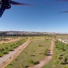 Conservación de parques y jardines mediante el uso de drones