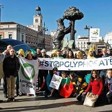 Protestas en varias ciudades europeas para prohibir el glifosato