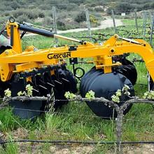 Gascón Serie NERO SX180, gradas especiales para viña