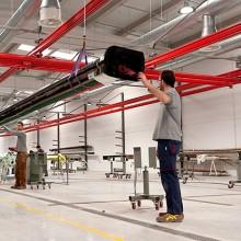 King Agro fabricará para John Deere barras de fibra de carbono