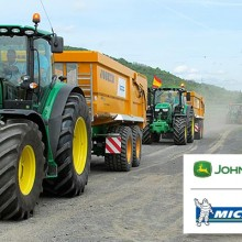 John Deere y Michelin buscan al mejor conductor de tractores de Europa