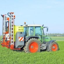 Gran despliegue de máquinas de Kverneland Group en Demoagro