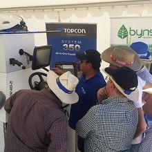 Topcon mostró su tecnología más puntera en Demoagro 2017