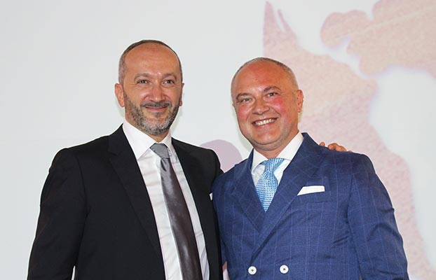 Alessandro Malavolti junto a Massimo Goldoni
