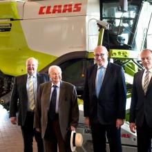 El Comisario de la UE, Phil Hogan, visita la sede central de Claas