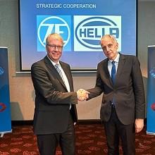Alianza estratégica de Hella y ZF