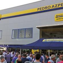 Inauguración de las nuevas instalaciones de Pedro Azpeitia en Logroño