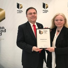 Weidemann gana el premio German Brand Award 2017