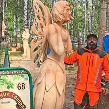 Marcos Mariño entre los 10 primeros en la X Feria del Hacha en Tomsk , Siberia