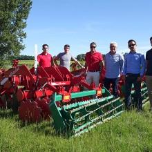 Ovlac entrega 30 máquinas Reptill para el trabajo de viña en Francia