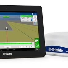 Nuevo sistema de pantalla GFX-750 de Trimble