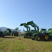 El ciclo completo de cosecha con equipos John Deere