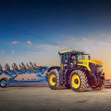 Los tractores Fastrac y las nuevas telescópicas, protagonistas del stand de JCB
