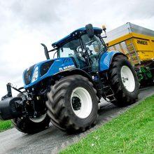 Implementos y tractores isodiamétricos y articulados, novedades New Holland en FIMA