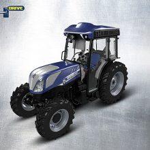 New Holland presenta el tractor autónomo T4.110F NHDrive para viñedos