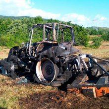 Identificar las causas en los incendios con maquinaria agrícola