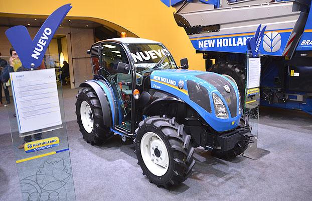 new holland present u00f3 en fima sus nuevos tractores t4fb