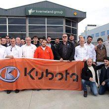 Formación de Kubota sobre sus implementos