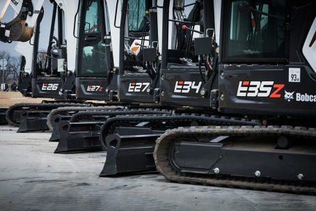 Bobcat Excavadoras