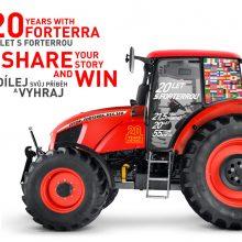 20 aniversario del tractor Zetor Forterra